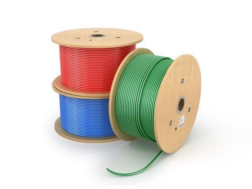 Carreteles de cables