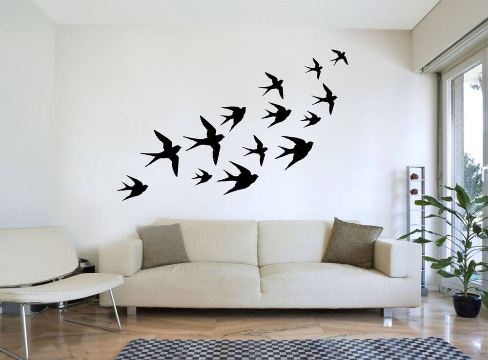 Diseños con stencil