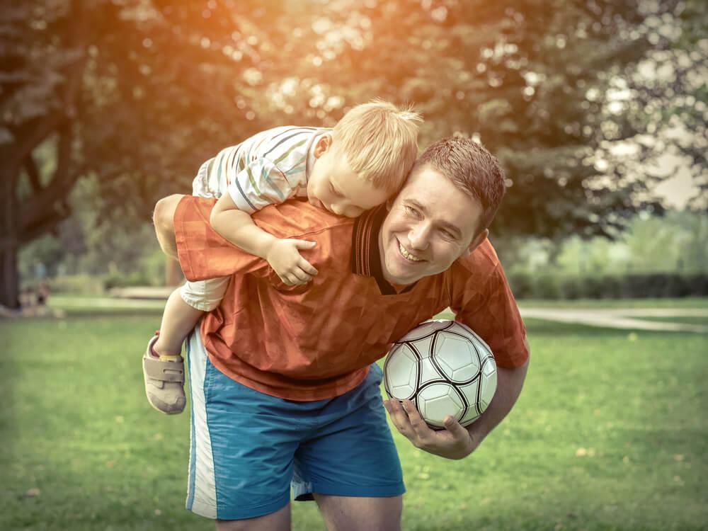 Los niños y el deporte.