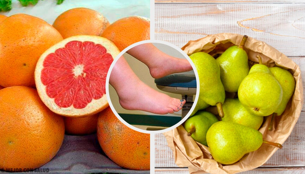 Las 10 mejores frutas para combatir la retención de líquidos