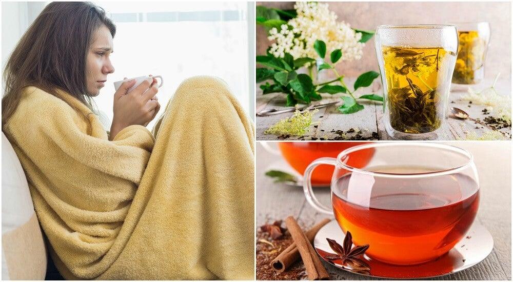 Las 5 mejores infusiones para combatir la gripe