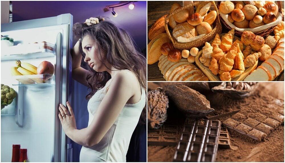 Los 10 alimentos que no debes comer antes de acostarte