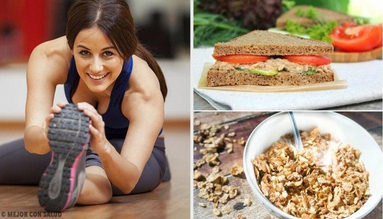 Los 7 mejores desayunos para antes de practicar deporte