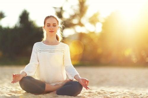 Medita y busca calma