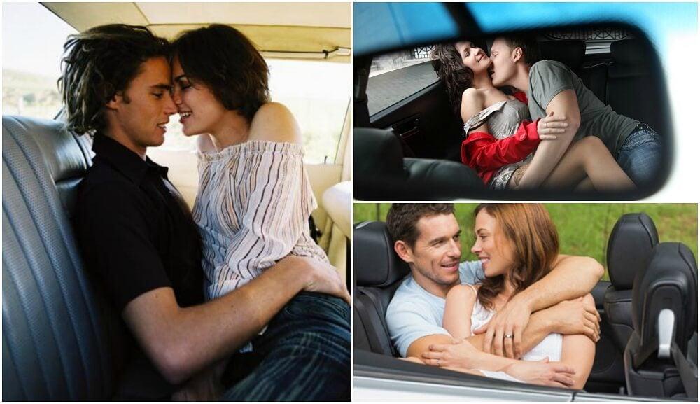 Posturas para hacer el amor en un coche