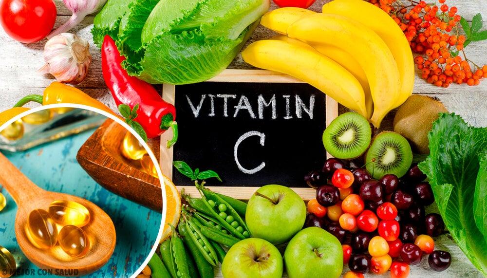 Qué alimentos tienen mayor porcentaje de vitaminas