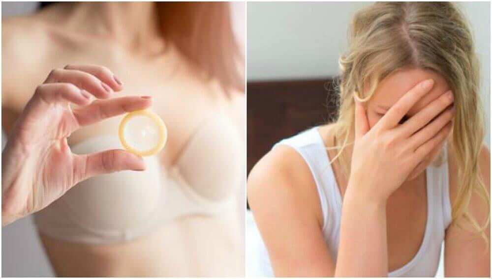 ¿Qué debes hacer si el preservativo se queda dentro?