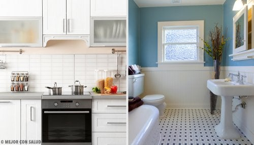 Remedios caseros para un buen olor en cocina y baño
