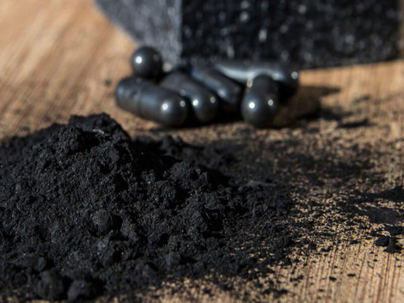 remove tartar at home - activated carbon