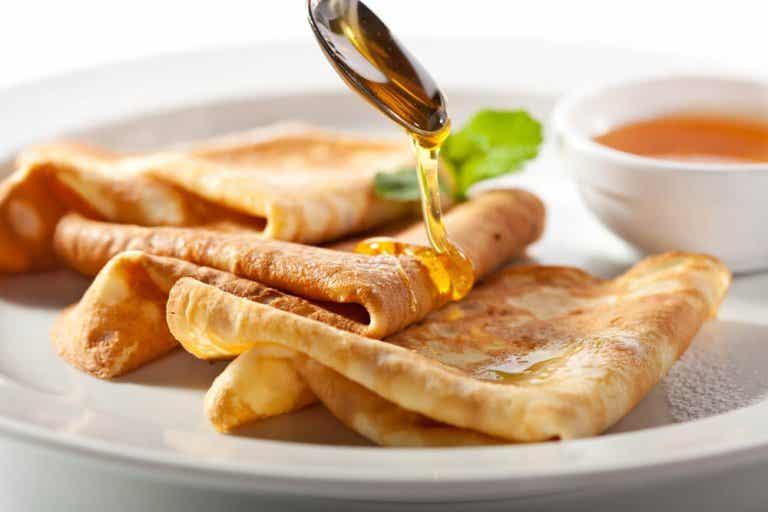 Descubre las deliciosas crêpes de mandioca y coco, sin gluten y sin lactosa