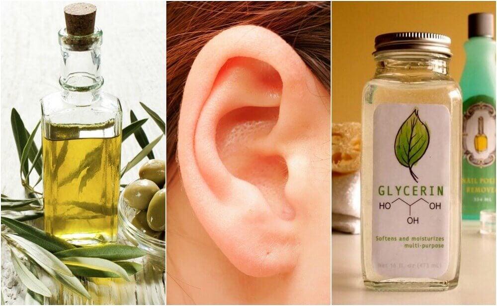 limpiar los oídos con aceite
