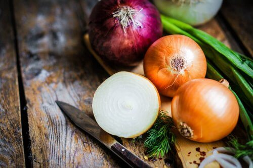 Beneficios del jugo de cebolla