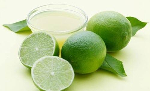 Limón, ingrediente del jabón para pieles grasas
