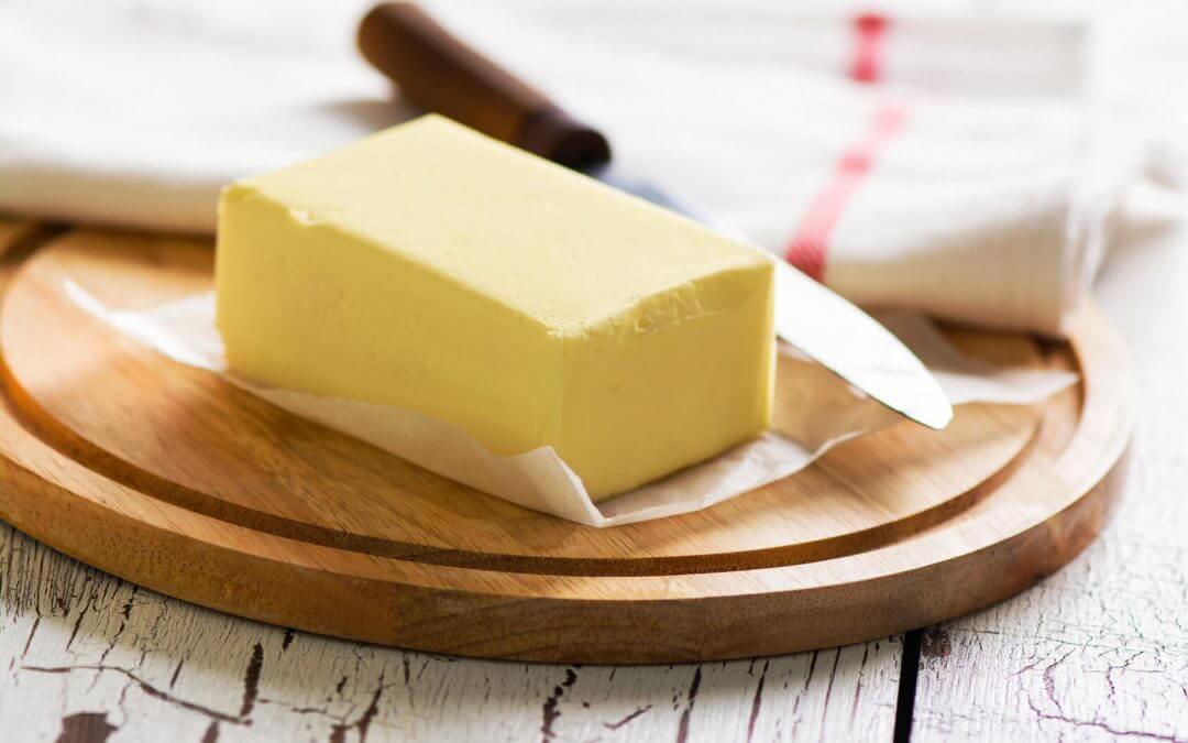 Mantequilla - alimentos lacteos con menos lactosa