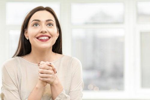 Mujer con expectativas