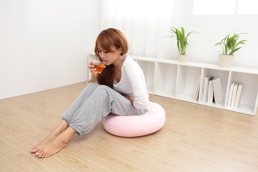 Infusión de tomillo para el síndrome premenstrual