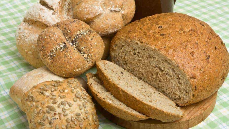 Pan de salvado de trigo.