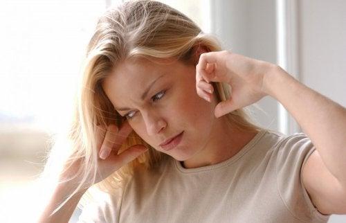Dolor en los oídos