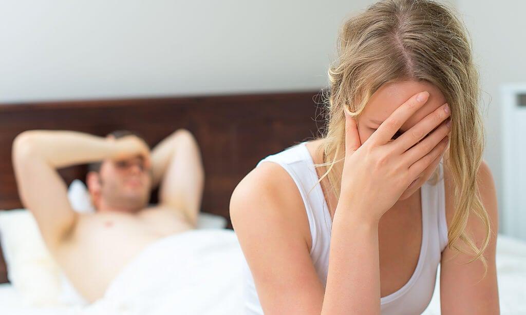 Momentos cuando una mujer debe decir no.