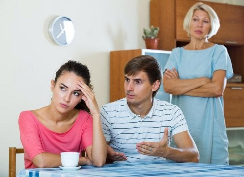 Problemas con la suegra