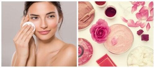 4 tónicos caseros para refrescar tu piel todos los días