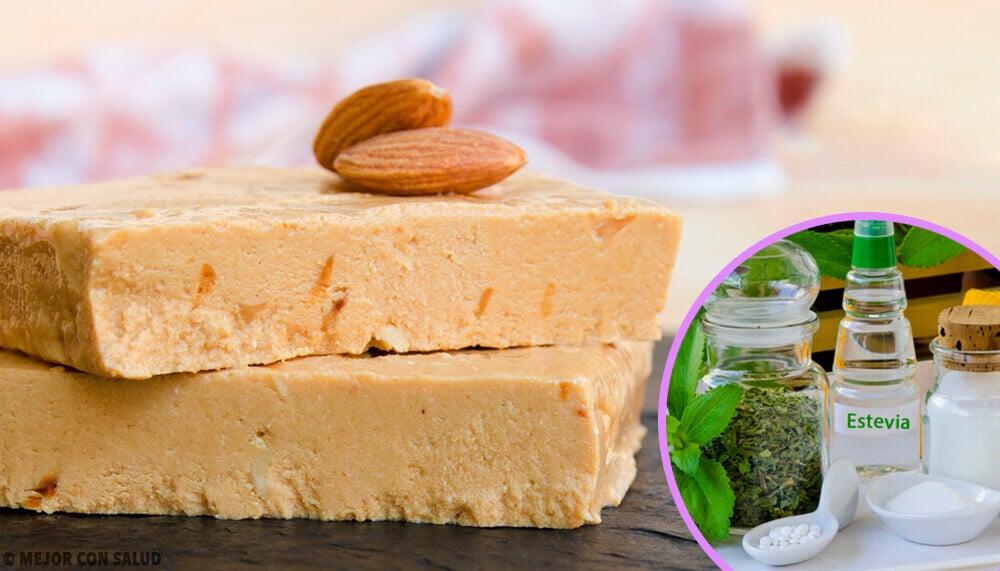 Prepara un delicioso y saludable turrón casero de almendra