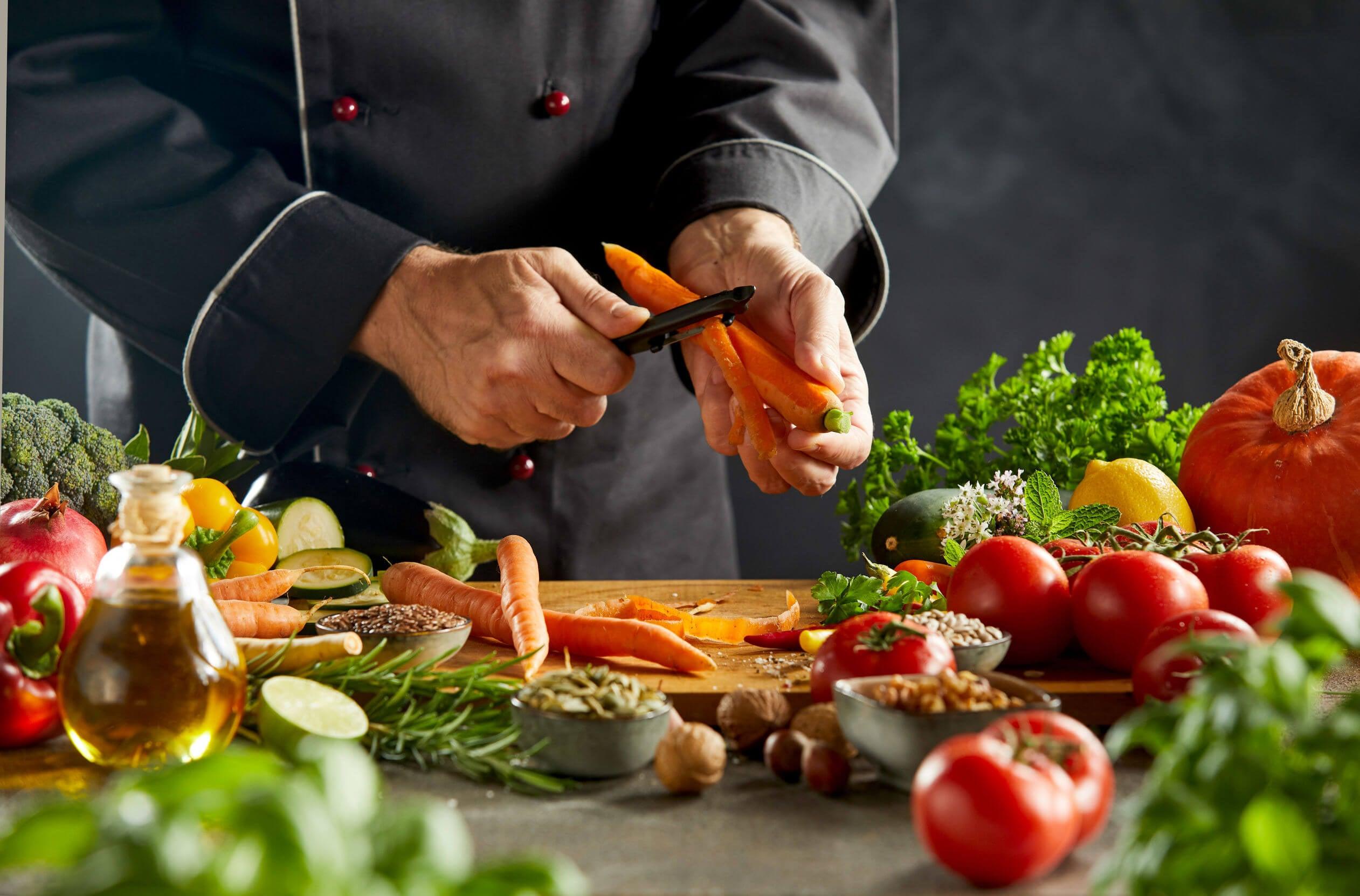 Verduras para preparar con cuscús.