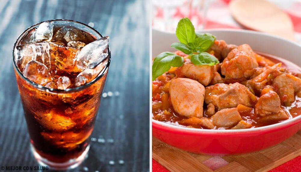 2 recetas caseras de pollo a la coca-cola