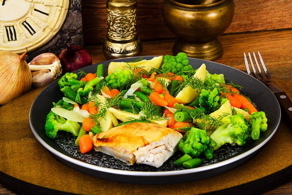 4 recetas de puré de patatas y verduras al vapor