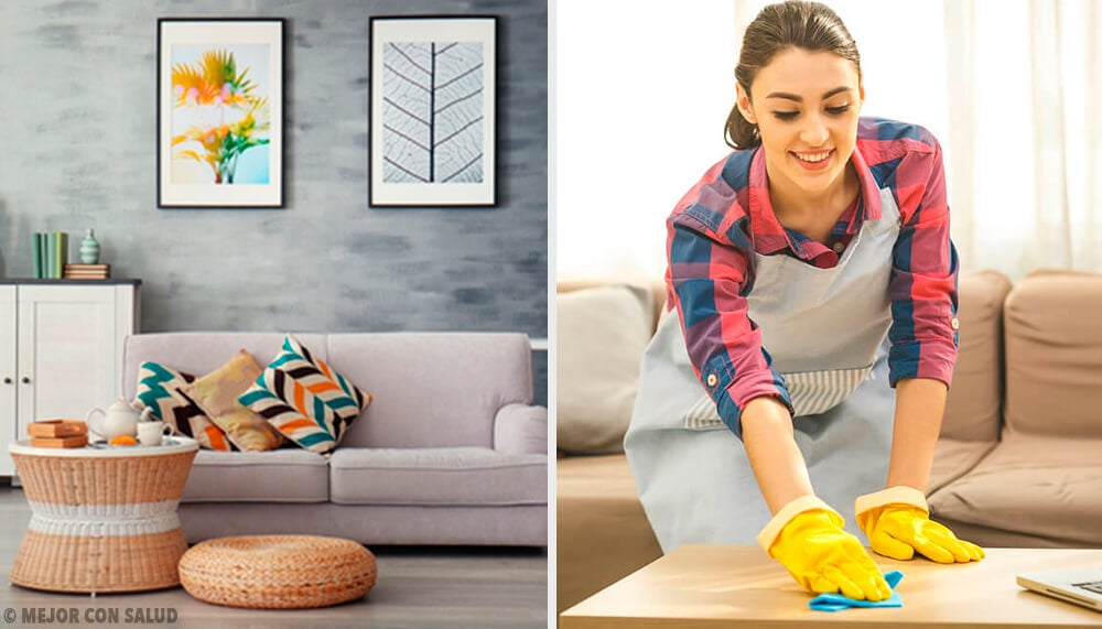 5 hábitos de limpieza para mantener la casa ordenada