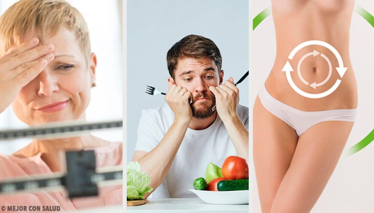 rango de pérdida de peso saludables