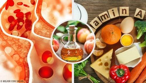 7 propiedades adelgazantes del vinagre de manzana