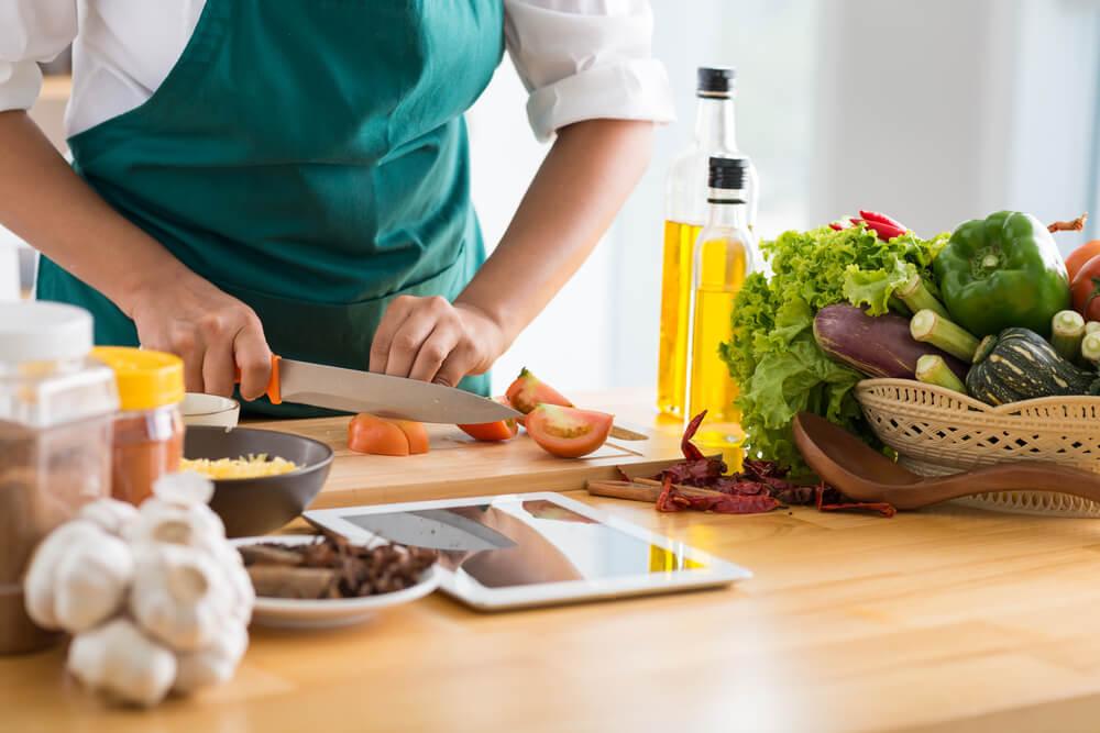 Aprender nuevas recetas saludables