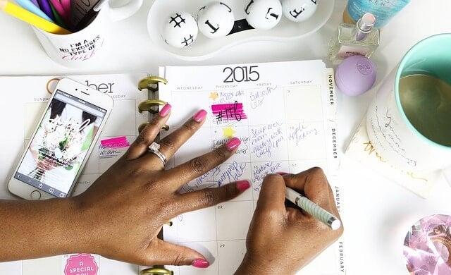 Beneficios de tener un calendario personalizado