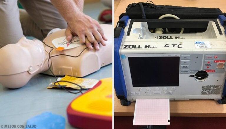 Cómo se usa un desfibrilador en un caso de emergencia