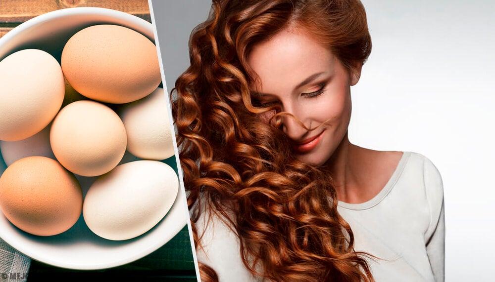 Usa huevo para cuidar tu cabello