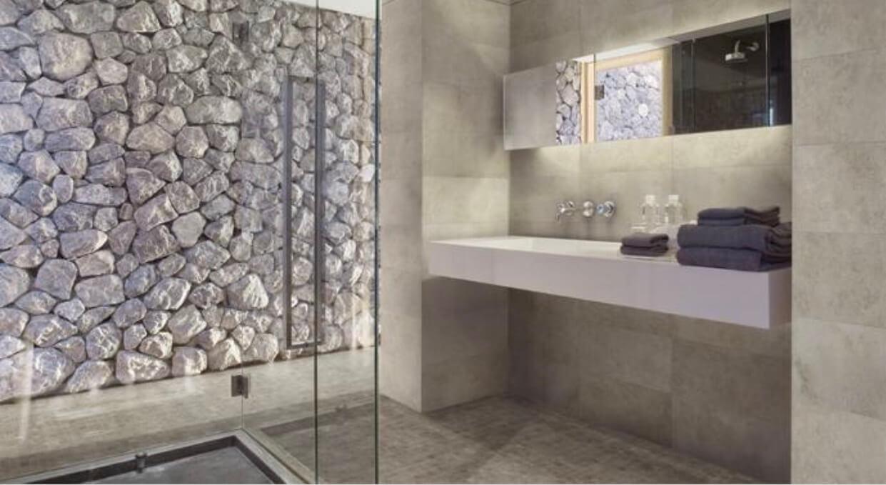Azulejos ideales para crear un sofisticado y maravilloso ba o - Azulejos mosaicos para banos ...
