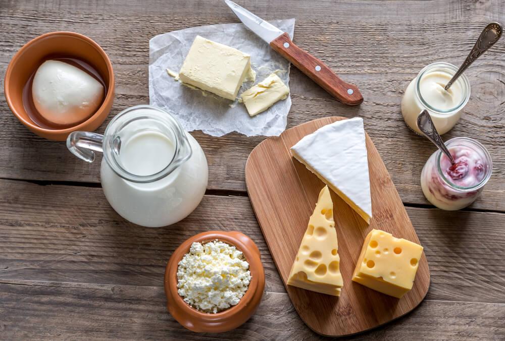 Los lácteos promueven la formación de colágeno.