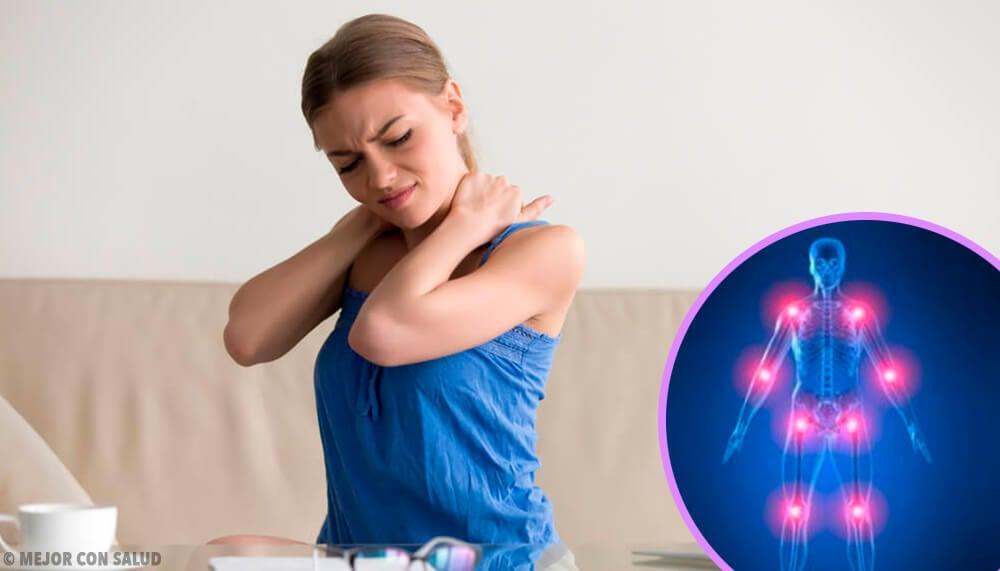 En dolores al el punzantes agudos cuerpo azar
