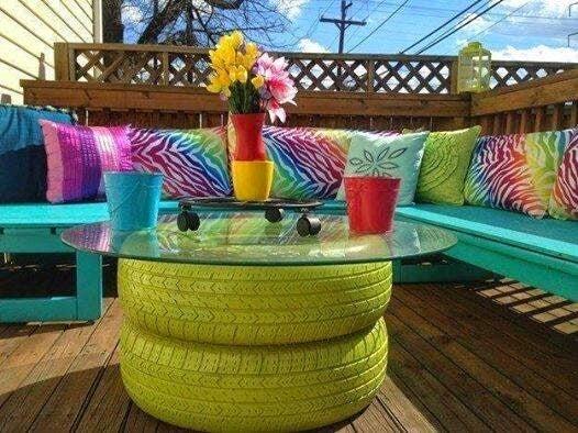 Haz de los colores vibrantes, tus aliados para decorar tu hogar.
