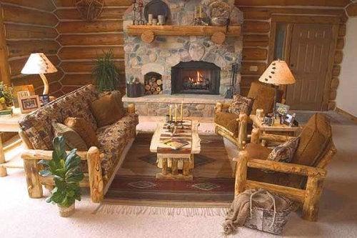 Hay colores característicos en la decoración rústica.
