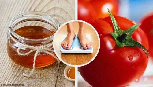 Pierde peso con estas 4 recetas naturales