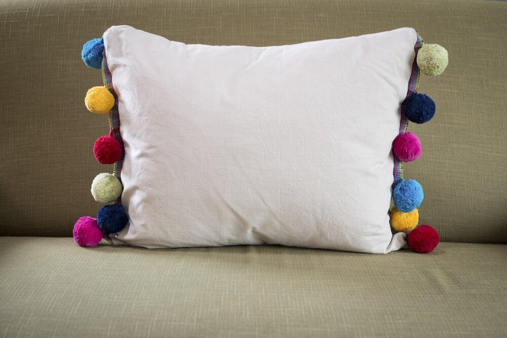 Cojines decorativos aprende a hacerlos t mismo de manera sencilla - Cojines de lana ...