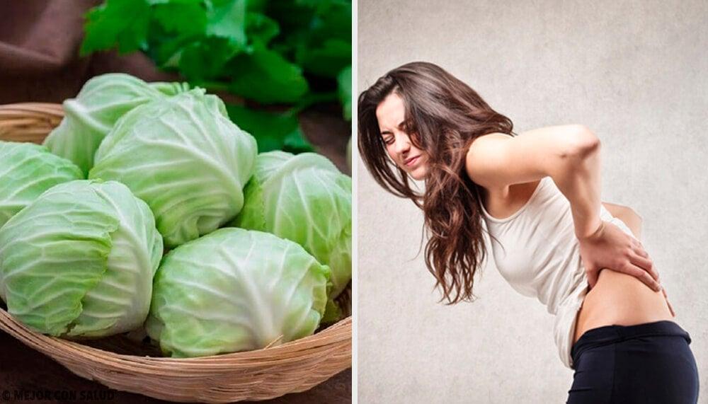Remedio de arcilla, vinagre y hojas de repollo para desinflamar las hernias