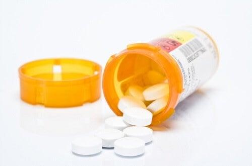 Caja de antidepresivos.