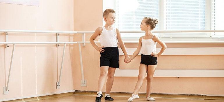 Niños en ballet