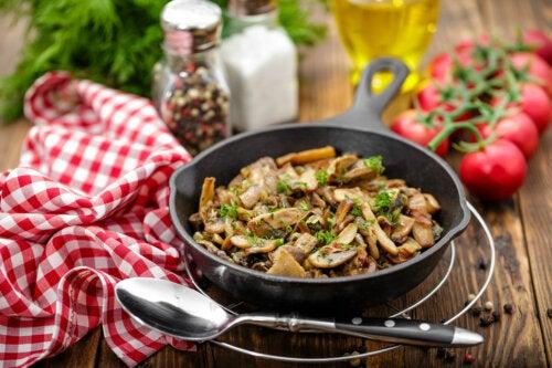 Tres maneras de usar los champiñones en tus recetas