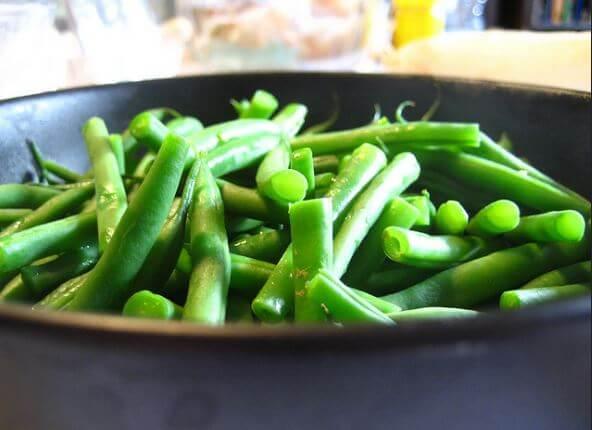 Receta casera para preparar frijoles verdes