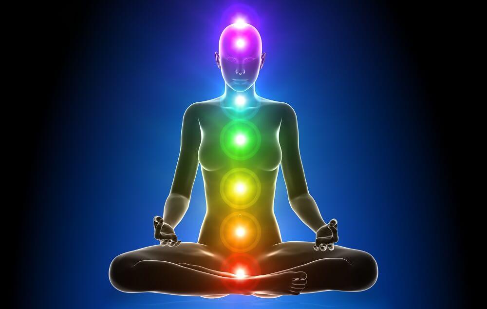Meditation - Chakras - Human body - Sensuality - la cromoterapia