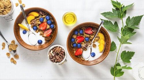 4 desayunos nutritivos a base de frutas
